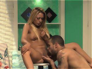 Natalia Robles gets her gash eaten