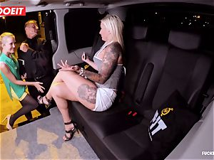 LETSDOEIT - successful cab Driver Bones 2 steamy Blondes