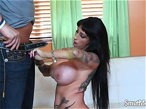 porn babe with air bags gonzo
