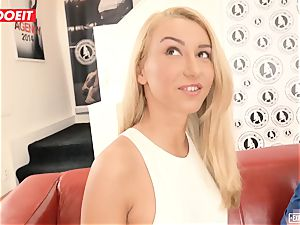 Katrin Tequila boinked gonzo on her very first casting