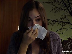 luxurious Sasha Grey bares her diminutive udders