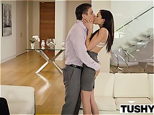 TUSHY Ariana Marie very first ass fucking