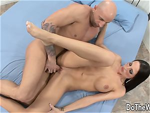 Cuck watches wifey Kortney Kane Get ravaged
