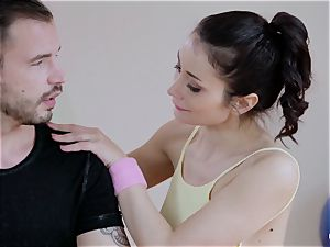 RELAXXXED - intercourse in the gym with hot Italian honey