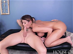 BROOKLYN chase – stiff LESSONS – super-bitch professor BLACKMAILED