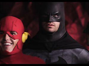 Justice League xxx part 5 - Hero fuck-fest with Romi Rain
