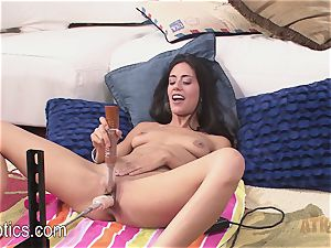 Lyla Storm Gets a great drilling From the bang Machine