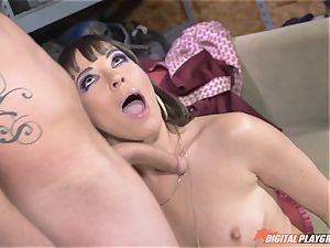 Dana DeArmond gets her splendid taut coochie tongued and played with
