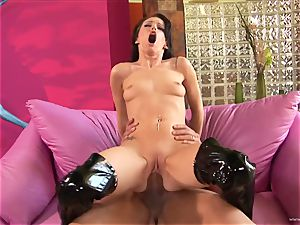 edible Jenna Presley gets her face showered with scorching cum