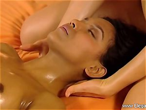 massage For brown-haired chicks