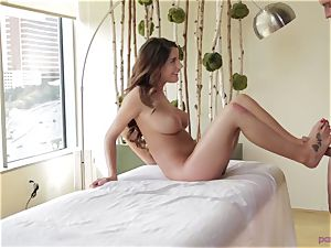 Randy August Ames massage and footjob