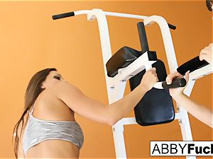 workout between Abigail and Dana