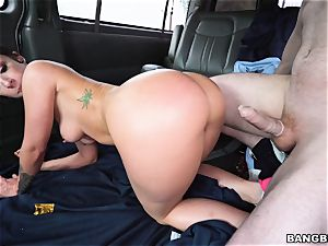 Jada Stevens romped on the Bangbus
