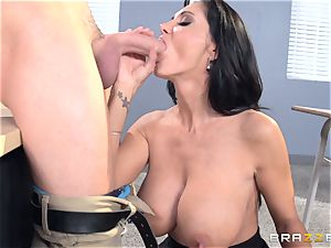 big-chested tutor Ava Addams is pulverized by her student