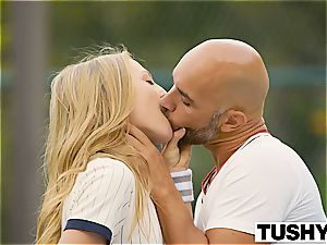 TUSHY very first ass-fuck For Tennis student Aubrey starlet