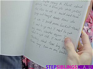 Stepsis blackmailed to nail bro to keep her muddy secrets