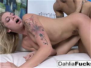 Getting fucked by Derrick on the bed